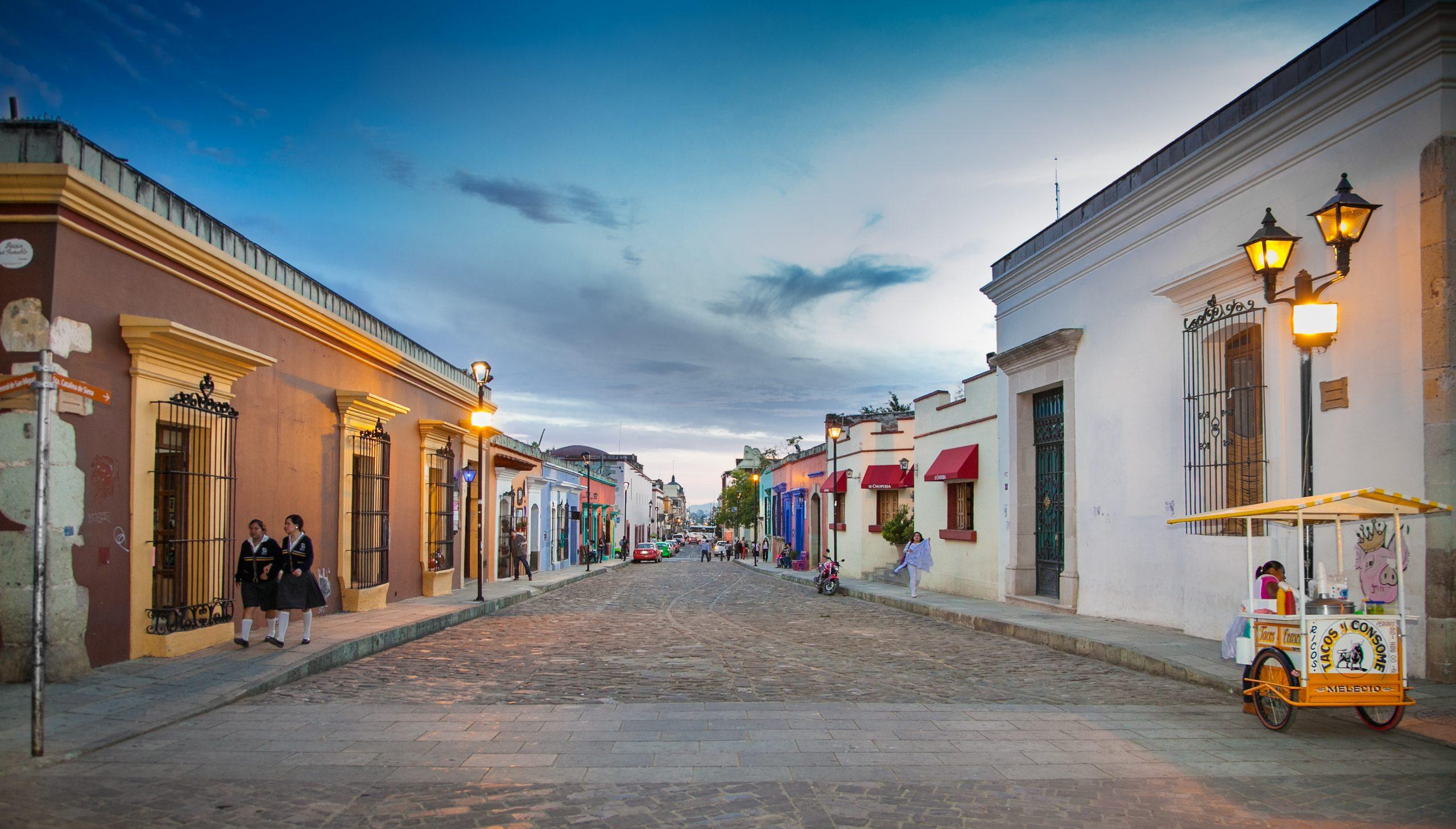Atardecer en Oaxaca