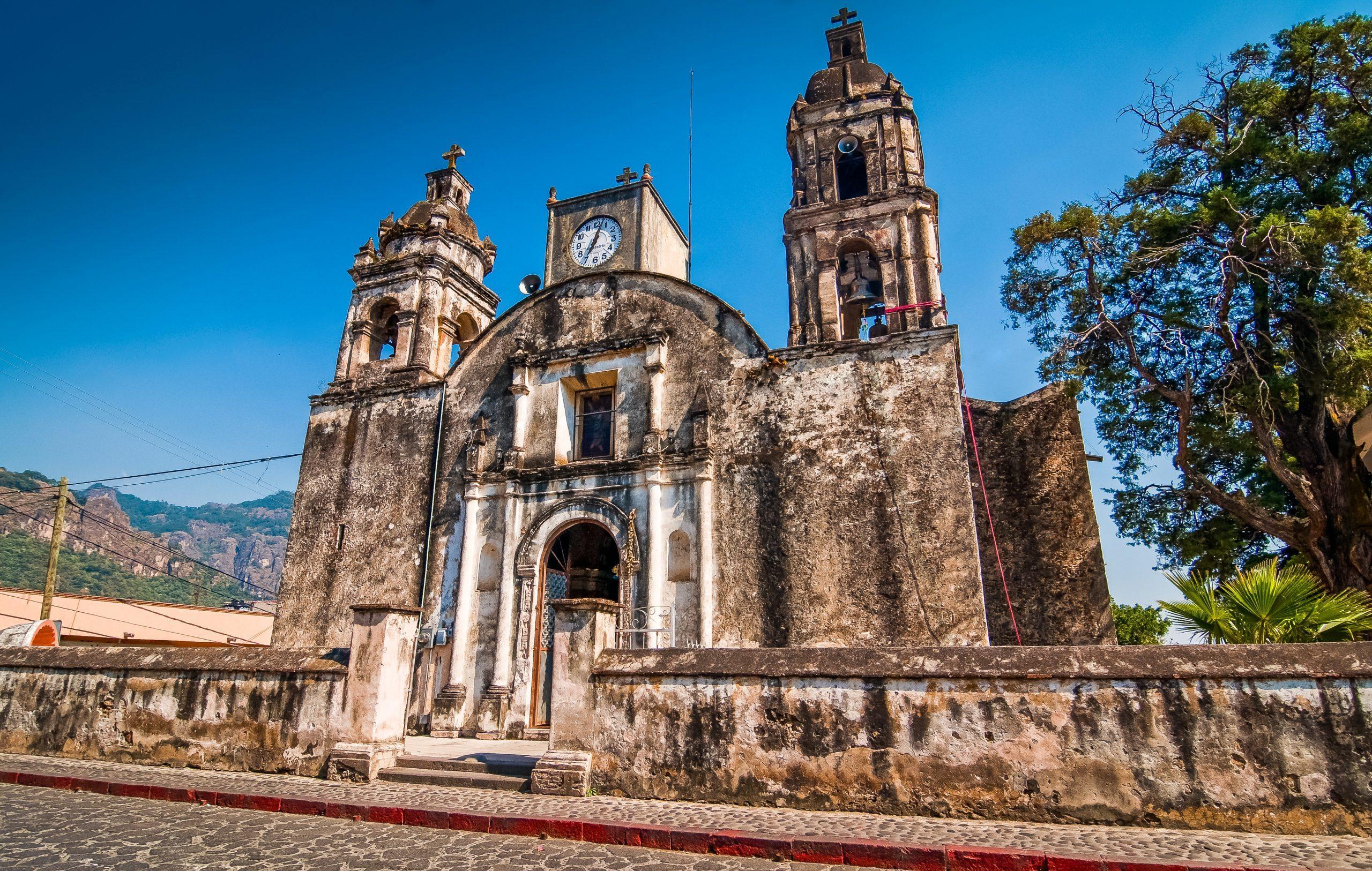 Iglesia en Tepoztlán